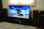 SONY 4K有機ELテレビ KJ-65A1を展示しました。